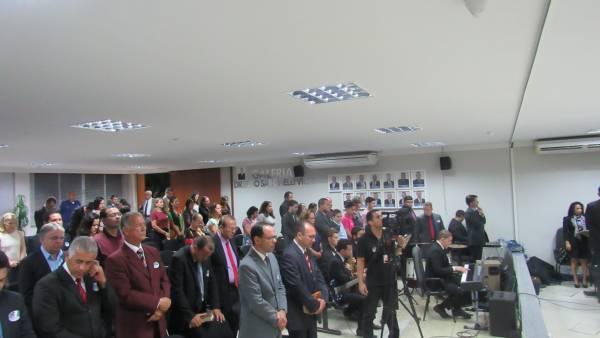 Homenagem aos 50 anos da Igreja Cristã Maranata na Câmara Municipal de Linhares (ES) - galerias/4540/thumbs/05.JPG