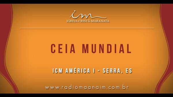 Ceia Mundial da Igreja Cristã Maranata: Participação das igrejas do Brasil - Parte II - galerias/4554/thumbs/258icmaméricai-serra-es.jpg