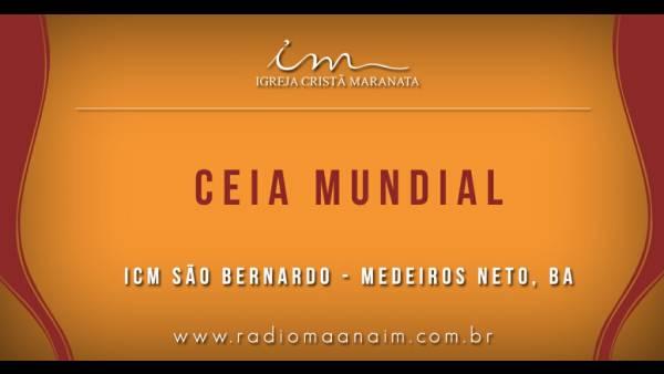 Ceia Mundial da Igreja Cristã Maranata: Participação das igrejas do Brasil - Parte II - galerias/4554/thumbs/355icmsaobernardo-medeirosneto-ba.jpg
