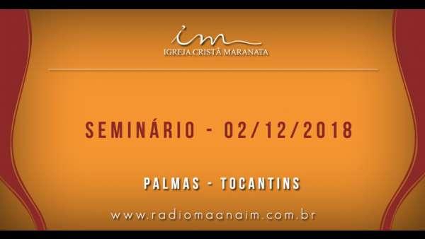 Participação das igrejas no Seminário de Principiantes e 1º Período - 02/12 - galerias/4722/thumbs/01icmpalmas.jpg