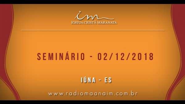 Participação das igrejas no Seminário de Principiantes e 1º Período - 02/12 - galerias/4722/thumbs/12iúna.jpg