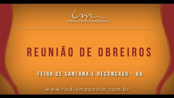 Reunião de Obreiros e Batismo - Feira de Santana (BA) - galerias/4783/thumbs/00divisoria.jpg