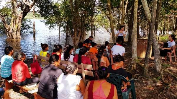ICM de Manaus realiza assistência em Comunidade Ribeirinha de São José  - galerias/4794/thumbs/11mauesam.jpeg