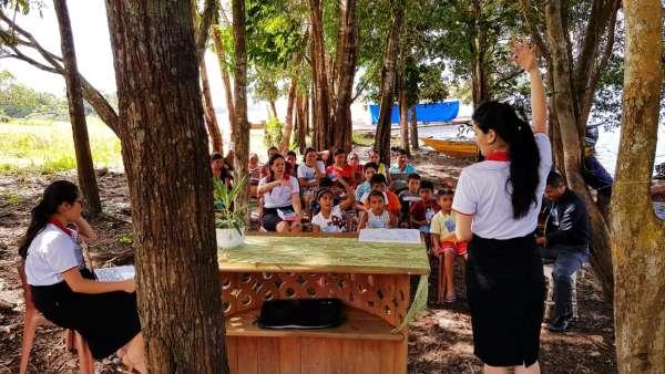 ICM de Manaus realiza assistência em Comunidade Ribeirinha de São José  - galerias/4794/thumbs/12mauesam.jpeg