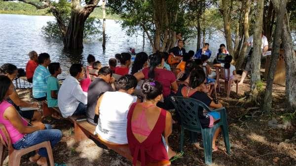 ICM de Manaus realiza assistência em Comunidade Ribeirinha de São José  - galerias/4794/thumbs/15mauesam.jpeg