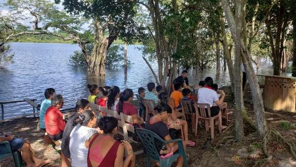 ICM de Manaus realiza assistência em Comunidade Ribeirinha de São José  - galerias/4794/thumbs/19mauesam.jpeg