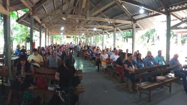 Seminário com obreiros e professoras no Maanaim de Cacoal, RO - galerias/4847/thumbs/03semináriocacoal.jpeg