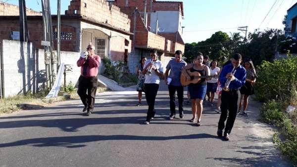 Evangelização em Parque Gramado, Cariacica - ES - galerias/4862/thumbs/01.jpeg