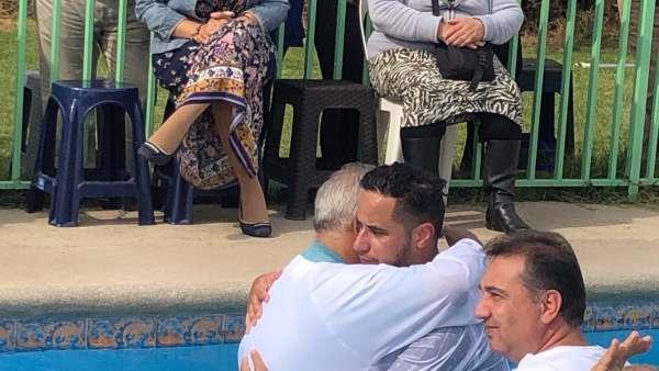 Batismo em Santiago, Chile - Missão Internacional Cristã Maranata - galerias/4887/thumbs/07batismo.JPG