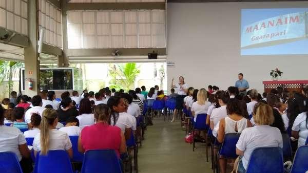 Ensaio e vigília no Maanaim de Guarapari, ES, com participação do Projeto Aprendiz Júnior - galerias/4946/thumbs/07.jpg
