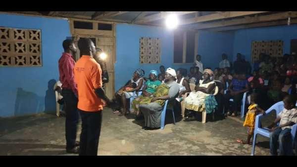 Recebimento de donativos em Gana, África - galerias/4957/thumbs/06.jpeg