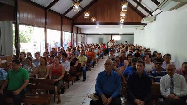 Culto com os visitantes do evento Trombetas e Festas, um alerta - galerias/5062/thumbs/02.jpg