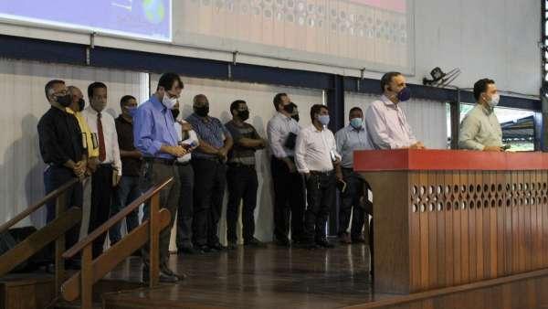 Reunião de obreiros, diáconos e pastores no Maanaim de Terra Vermelha, Vila Velha, ES - galerias/5081/thumbs/08.jpg
