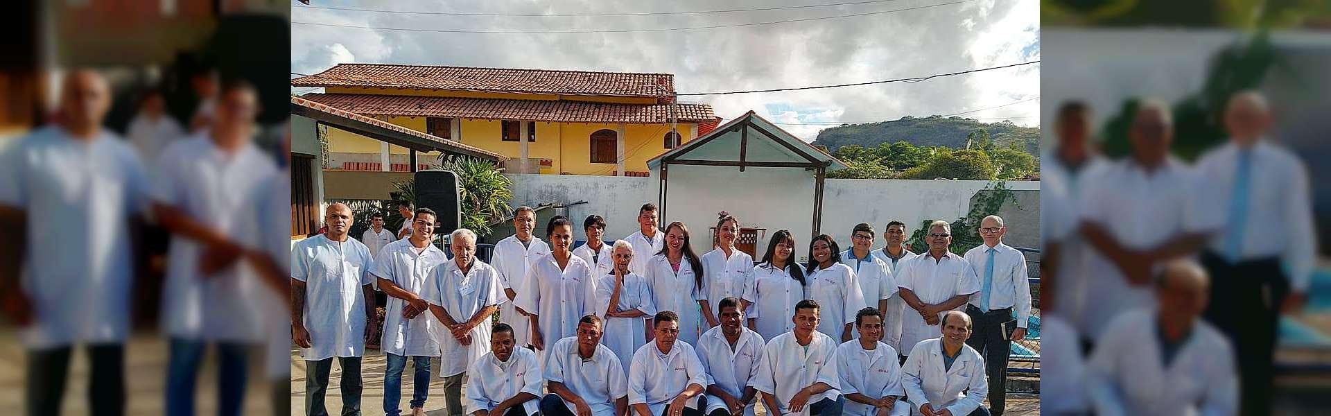 Batismos em Igrejas Cristã Maranata - outubro de 2019