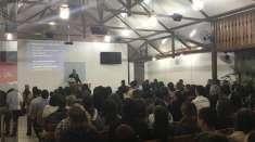 Igreja Cristã Maranata em Guarapiranga, Ponte Nova (MG), completa um ano