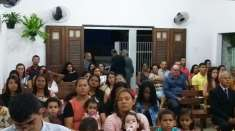 Presença de visitantes marca culto em Igreja Cristã Maranata de Atalaia, AL