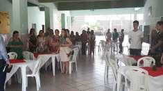 Igreja Cristã Maranata de Conselheiro Pena (MG) realiza culto em Escola Estadual