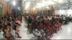 Igreja Cristã Maranata de Piripiri (PI) realiza culto de evangelização