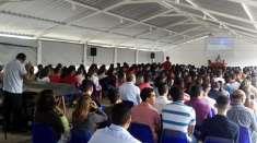 Reunião no Maanaim de Vale do Paraíba reúne 300 jovens