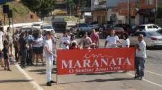 Trabalho de Evangelização é realizado em Manhuaçu (MG)