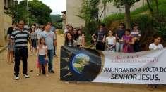 Atividades evangelísticas atingem moradores de Minas Gerais e do Rio de Janeiro