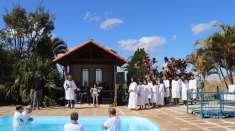 Batismos realizados por Igrejas Cristã Maranata em julho de 2019