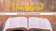 Escola Bíblica Dominical - 20/10/2019