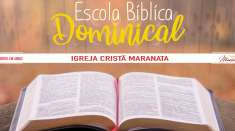 Escola Bíblica Dominical - 25/08/2019