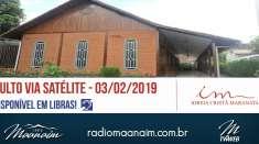 Culto 03/02/2019