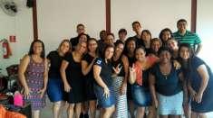 Classe da Oficina de Libras de Piabetá, Magé - RJ, conclui as aulas de 2018