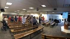 Membros da ICM de Newark, EUA, participam do seminário de Primeiro Período
