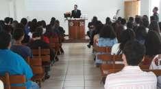 Ceia em Ouro Branco reúne cerca de 90 jovens