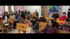 Membros da Igreja Cristã Maranata de Hamamatsu, Japão, participam de programações especiais