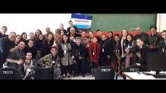 Participação de surdos e surdo-cegos em seminário marca trajetória do trabalho de Libras no Maanaim do ES