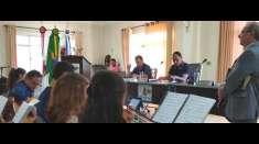 Câmara Municipal de Dom Cavati (MG) convida Igreja Cristã Maranata para um culto a Deus