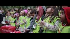 Crianças e adolescentes são incentivados a preservar o meio ambiente em segundo dia do seminário Unidos em Família