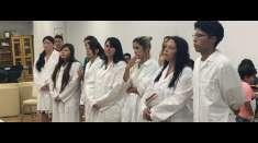 Batismo é realizado em Igreja Cristã Maranata do Japão