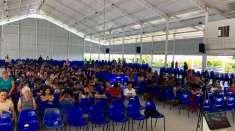 Primeiro Encontro de Adolescentes no Maanaim de Linhares, ES