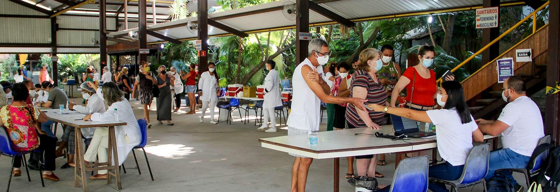 Igreja Cristã Maranata disponibiliza espaço em Maanaim no Município de Vitória, ES, para aplicação de vacinas