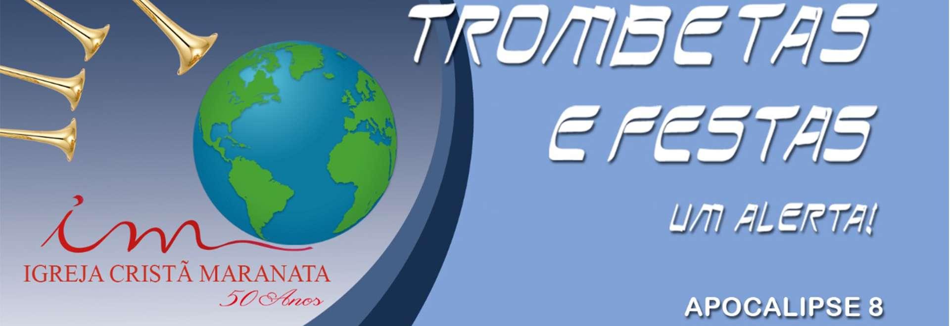 Evento Trombetas e Festas: convites em dez idiomas