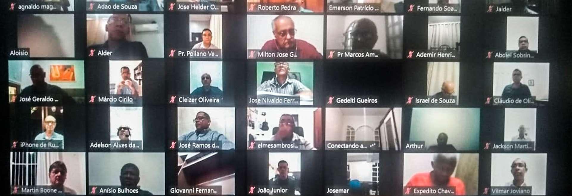 Reuniões online aproximam pastores da Igreja Cristã Maranata no Brasil e exterior