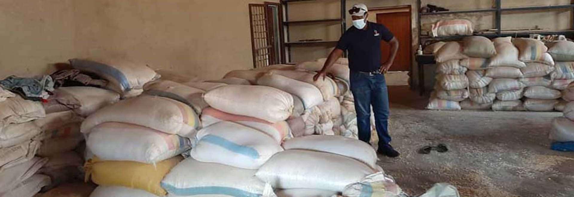 Igreja Cristã Maranata doa alimentos para famílias no Malawi, país africano