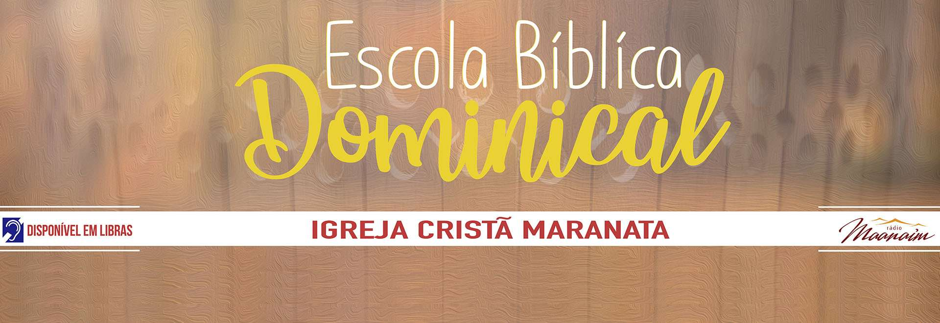 Participações da EBD da Igreja Cristã Maranata - 25/04/2021