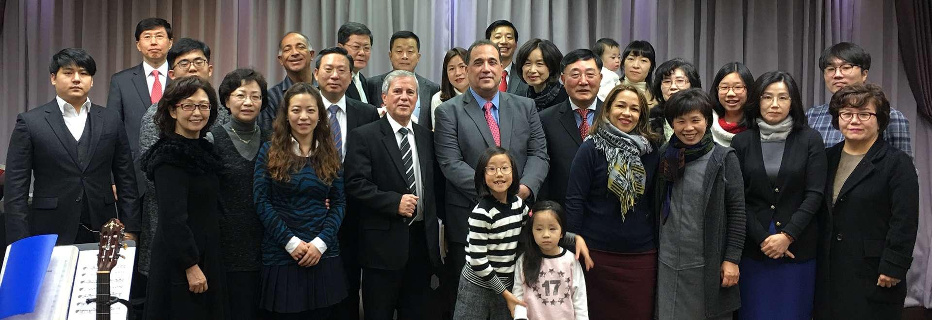 Igreja Cristã Maranata realiza seminário na Coreia do Sul