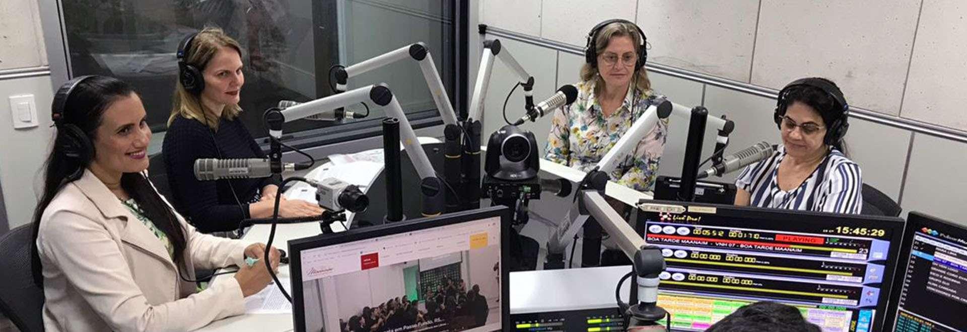 Grupo de Trabalho sobre Organização e Método, da Igreja Cristã Maranata, concede entrevista à Rádio Maanaim