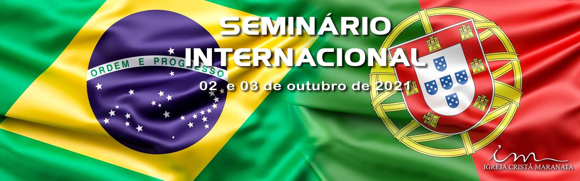 Seminário Internacional da Igreja Cristã Maranata diretamente de Portugal