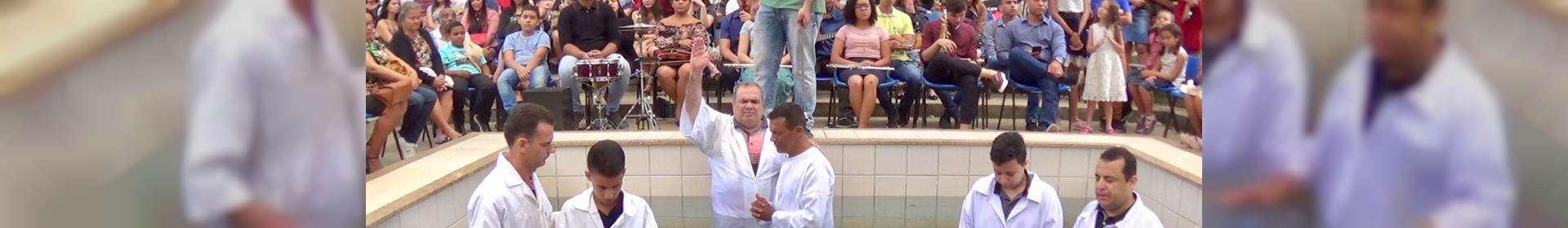 Batismos realizados durante o mês de agosto