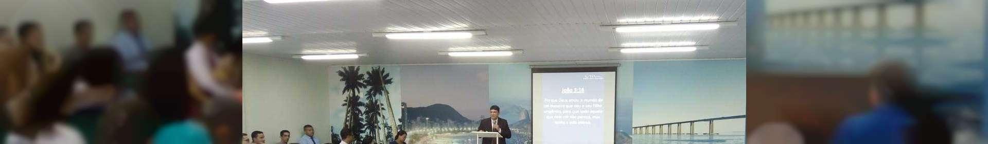 Igreja Cristã Maranata realiza culto de glorificação em Companhia de Saneamento