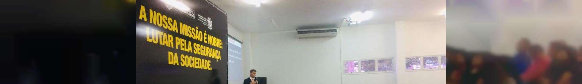 Culto na Polícia Civil do ES reúne profissionais de segurança pública