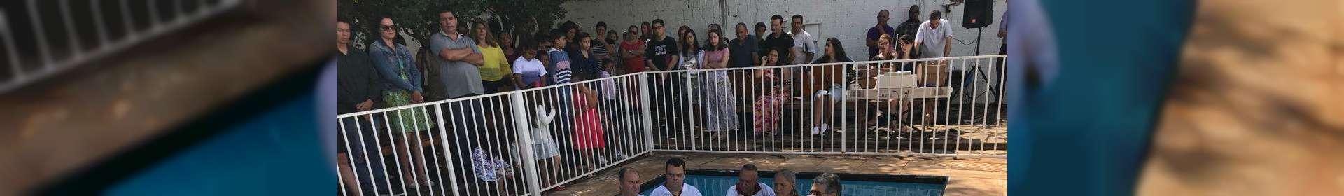 Igrejas Cristã Maranata realizam cultos de batismo ao longo do mês de maio